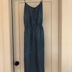 Old Navy Dresses - Old Navy Cross Strap Dress w Pockets